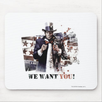 Harvey Dent - We Want You Mouse Pads