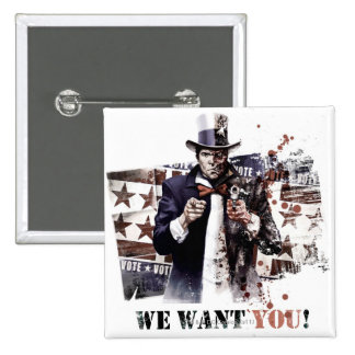 Harvey Dent - We Want You! Pinback Button
