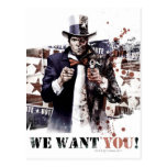 Harvey Dent - We Want You! Postcard