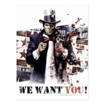 Harvey Dent - We Want You! Postcard