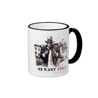 Harvey Dent - We Want You! Ringer Mug