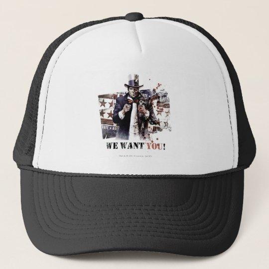 Harvey Dent - We Want You! Trucker Hat