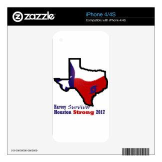 Harvey design 3 iPhone 4S decals