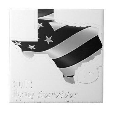USA Themed Harvey Design wht txt.gif Ceramic Tile