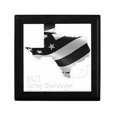 USA Themed Harvey Design wht txt.gif Keepsake Box