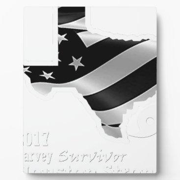 USA Themed Harvey Design wht txt.gif Plaque