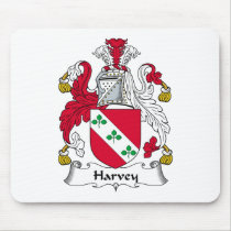 Harvey Family Crest Mousepad