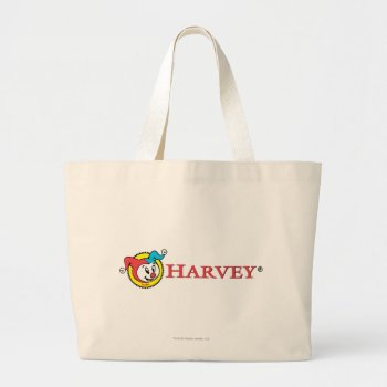 Harvey Logo 1 Large Tote Bag by casper at Zazzle