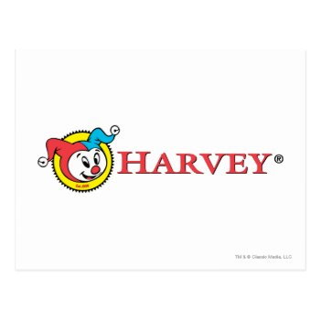 Harvey Logo 1 Postcard by casper at Zazzle