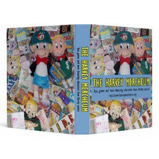 "Harvey Mercheum ""Explosion of Merchandise"" Binder"