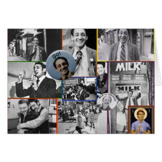Harvey Milk Collage Card