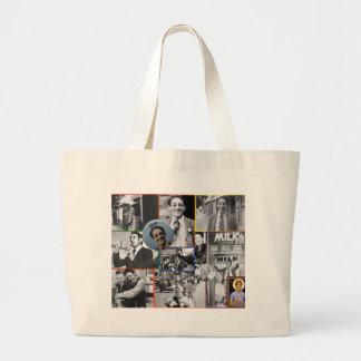 Harvey Milk Collage Large Tote Bag