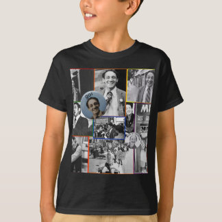 Harvey Milk Collage T-Shirt