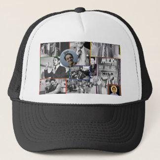 Harvey Milk Collage Trucker Hat