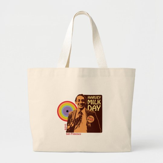 Harvey Milk Day 2010 Large Tote Bag