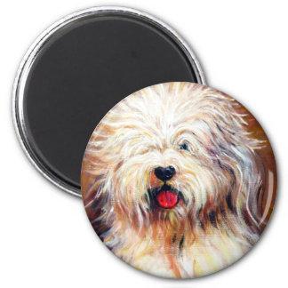 Harvey - Old English Sheep Dog Magnet