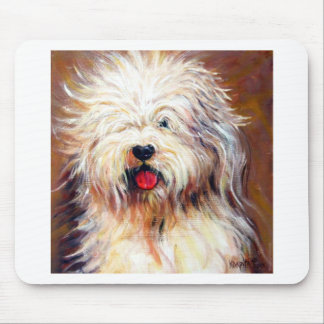 Harvey - Old English Sheep Dog Mouse Pad