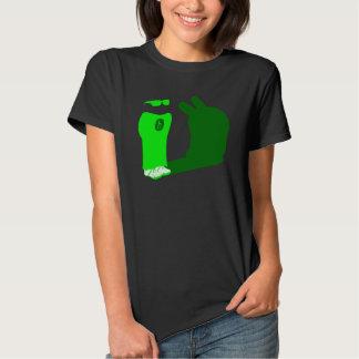 Harvey OS green-terminal Tshirts