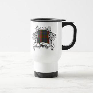 Harvey Tartan Shield Travel Mug