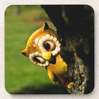 Harvey the Owl II Beverage Coasters