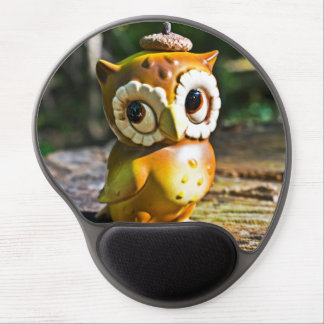 Harvey the Owl III Gel Mouse Mat