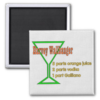 Harvey Wallbangers 2 Inch Square Magnet