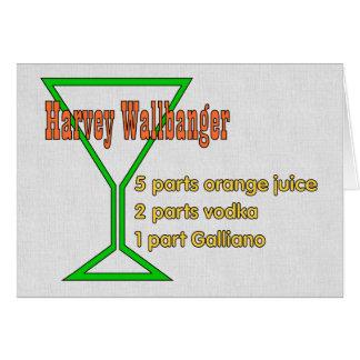 Harvey Wallbangers Card