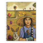 Harvey y el granjero excéntrico cuaderno