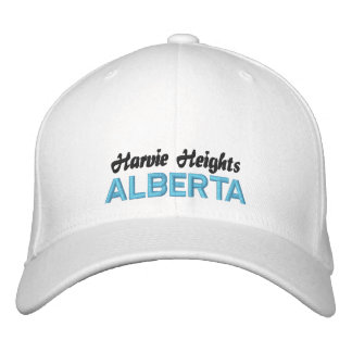 Harvie Heights, ALBERTA CANADA HAT Embroidered Baseball Caps