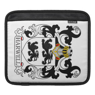 Harwell Family Crest Sleeve For iPads