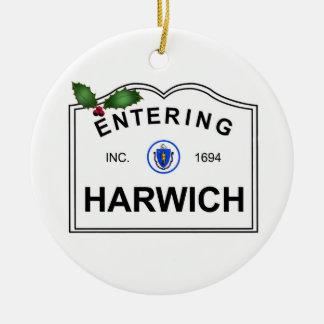 Harwich mA Adorno De Navidad