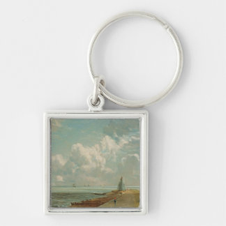 Harwich, The Low Lighthouse and Beacon Hill, c.182 Keychain