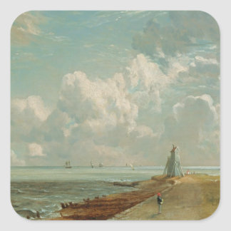 Harwich, The Low Lighthouse and Beacon Hill, c.182 Square Stickers