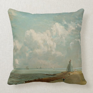 Harwich, The Low Lighthouse and Beacon Hill, c.182 Throw Pillow