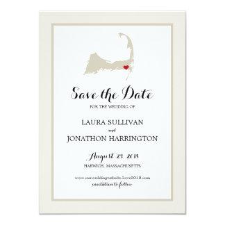 Harwich Wequassett Cape Cod   Wedding Card