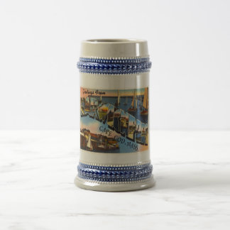 Harwichport Cape Cod Massachusetts MA Old Travel Beer Stein
