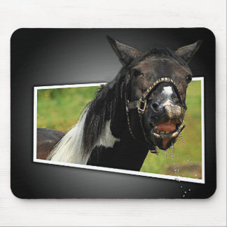 Has anyone got a tissue? mouse pad