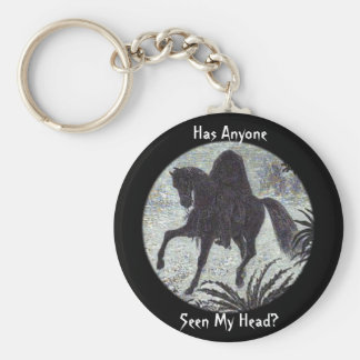 Has Anyone Seen My Head? Keychain