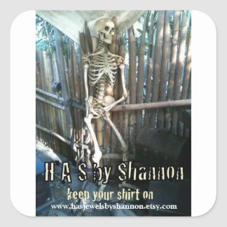HAS by Shannon Promo Stickers