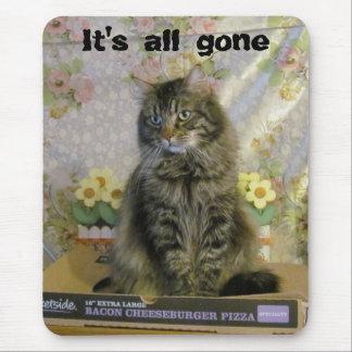 Has Sad/ No Pizza Mouse Pad