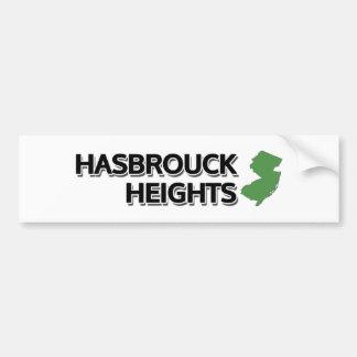 Hasbrouck Heights, New Jersey Car Bumper Sticker