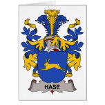 Hase Family Crest Greeting Card