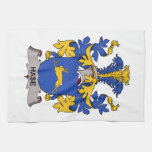 Hase Family Crest Hand Towels
