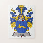 Hase Family Crest Jigsaw Puzzle