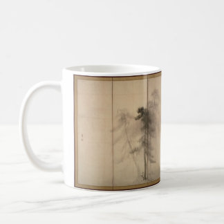 Hasegawa Tohaku Pine Trees 16th century fawn brown Coffee Mug
