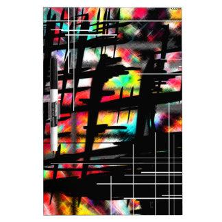Hash-Tag Art by AOM Design Dry-Erase Board