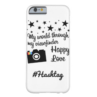 # hash tag in star gram wind barely there iPhone 6 case