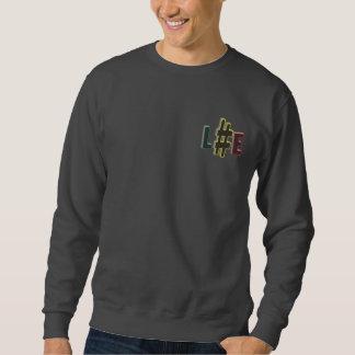 Hash tag life rasta colours crew sml logo sweatshirt