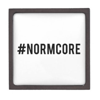 hash tag normcore, word art, text design premium jewelry boxes