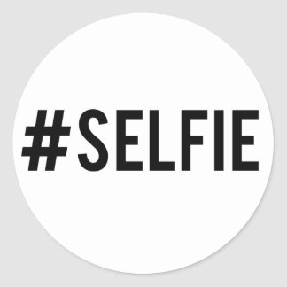 Hash tag selfie, word art, text design for t-shirt